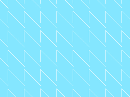 Seamless blue pattern with white strips. Vector illustration