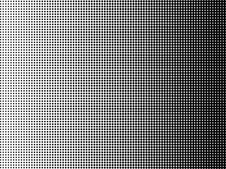 Pop art background halftone dots black and white color. Dotted. Vector illustration