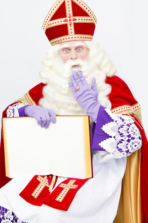 Sinterklaas Big Book Canvas