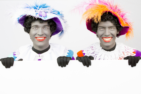 black pete: Black Peter (Black Pete) Gay Canvas