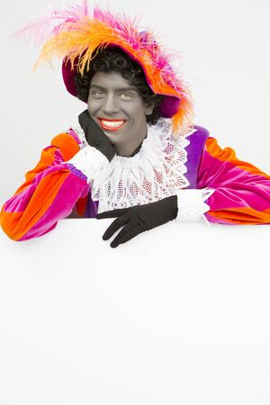 black pete: Zwarte Piet (Black Pete) Happy Canvas