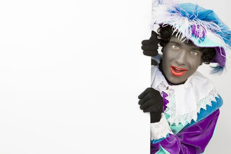 zwarte: Zwarte Piet (Black Pete) Curious Canvas