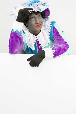 Zwarte Piet (zwarte pete) Canvas Hi