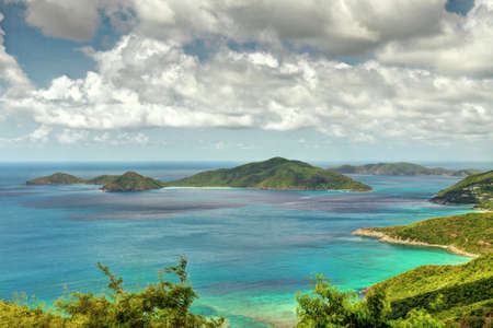 British Virgin Islands Stock Photo