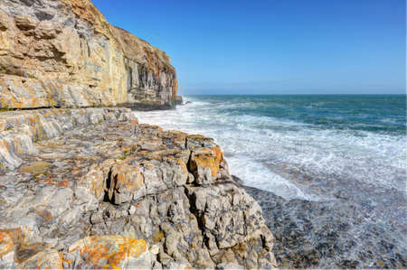 jurassic coast: Jurassic coast Stock Photo