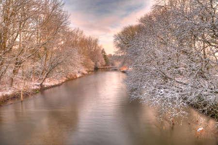 Snowy River Stock Photo