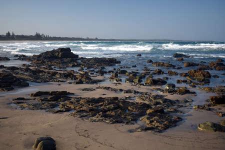 Diamond Beach Australia windy