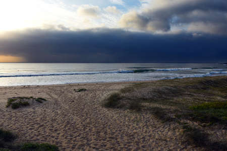 Australian Coastline storm