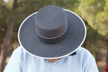 Andalusian hat man Stock Photo - 8627467