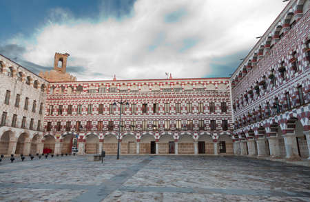 Square of Badajoz, Spain