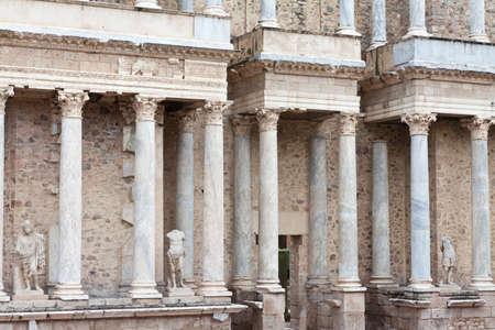 roman theater in Extremadura, Spain