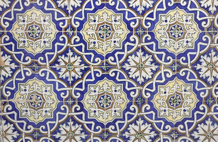 ceramic: Moroccan tile