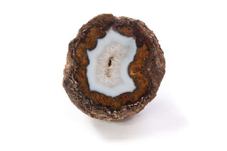 section of a geode agate