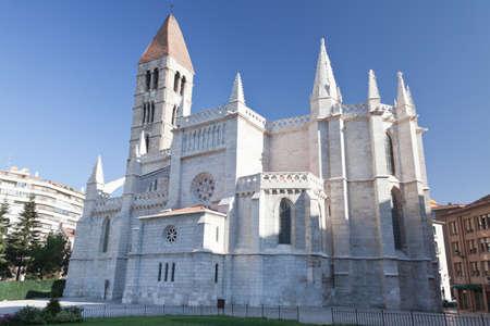 Church of Santa Maria de la Antigua in Valladolid Stock Photo