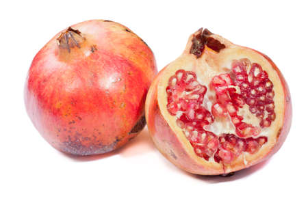 Section of a pomegranate photo