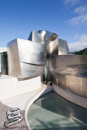 Bilbao, Spain, June 16, 2012. Contemporary Art Museum Guggenheim Bilbao, designed by Frank O. Gehry.