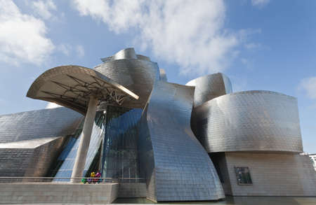 frank: Bilbao, Spain, June 16, 2012. Contemporary Art Museum Guggenheim Bilbao, designed by Frank O. Gehry.