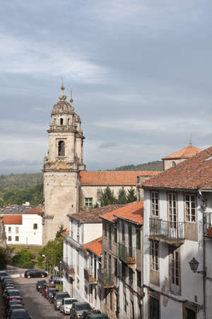 View of Santiago de Compostela with the towers of the Church of San Martin photo