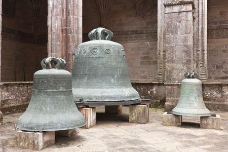 old bells of the Cathedral of Santiago de Compostela, Spain photo