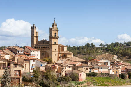 la rioja: Village of Haro in La Rioja, Spain Stock Photo