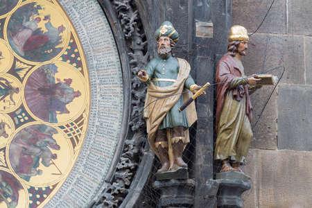 allegory painting: Astronomical clock, Prague