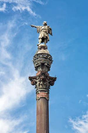discoverer: Columbus Monument in Barcelona