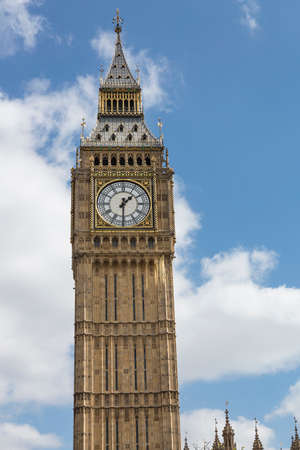big ben tower: Big Ben tower in London Parliament