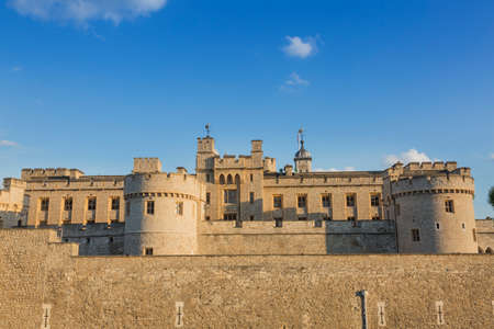 tourisms: The Tower of London, historic castle on the banks of the Thames