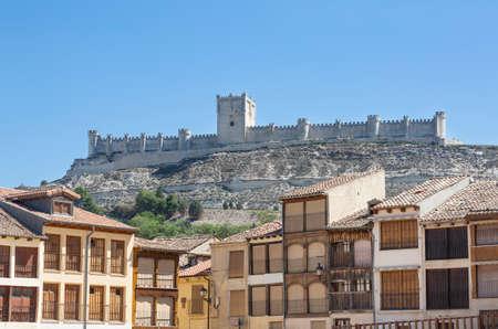 Penafiel Castle, in Valladolid