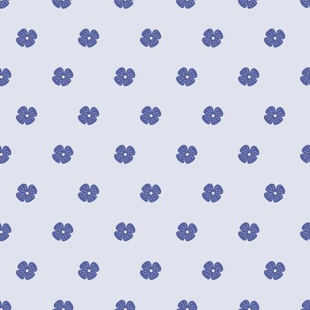 Soft blue flower seamless repeat vector pattern background. Great for paper products and stationery such as invitations, notebooks and party items. Would be great for gift and home ware products such as bedding as well as childrens clothing. Surface pattern design. Illustration