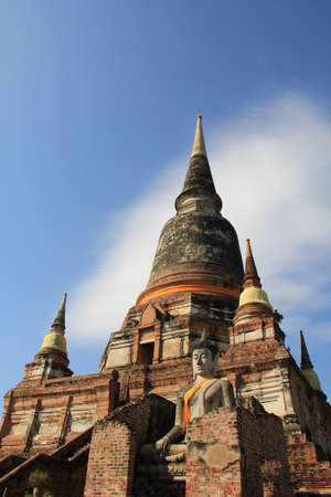ayuthaya: Pagoda,Ayuthaya,Thailand