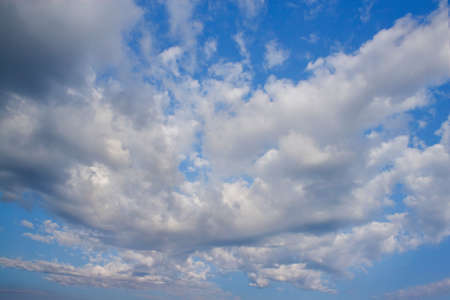 Beautiful cloud in the form of a butterfly against a blue sky Stock Photo - 80088521