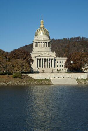 Capital of West Virginia in Charleston on the Kanawha River   photo
