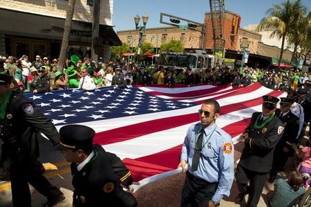 Saint Patrick s Day Parade in Delray Beach, Florida  Stock Photo - 12877933