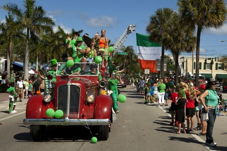Saint Patrick s Day Parade in Delray Beach, Florida