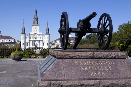 jackson: Jackson Square, is a historic park in the French Quarter of New Orleans, Louisiana