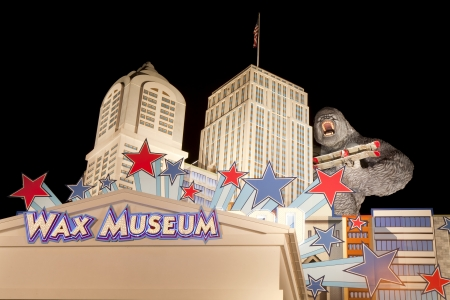 The Hollywood Wax Museum is a unique landmark and major tourist attraction in Pigeon Forge, Tennessee