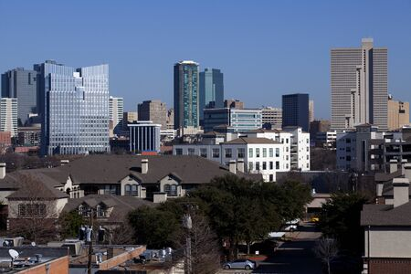 Dowtown skyline of Ft Worth, Texas
