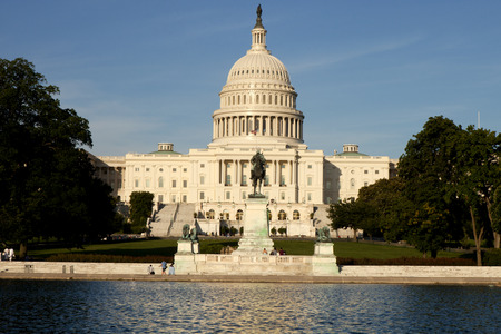 district of columbia: Nation Capitol building in Washington DC, USA