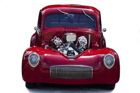 coupe: Red coupe roadster