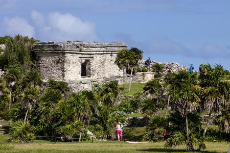 mayan riviera: Mayan Temples at Tulum, Mexico