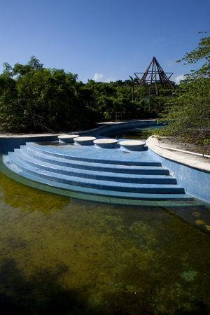 stagnation: Abandon swimming pool and hottubs full of rain water serive as the perfect environment for mosquitos to breed and the spread of diseases like Zika, Malaria, West Nile