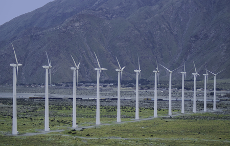 Wind Farm between Los Angeles and Palm Springs, California