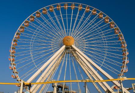 wildwood: Ferris Wheel in New Jersey Stock Photo