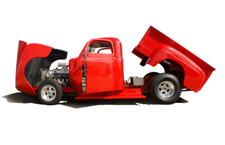 red truck: Red Truck