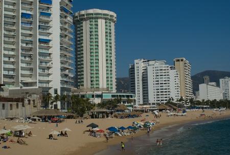 view of Acapulco Bay, Mexico Éditoriale