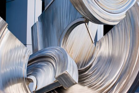stainless: Stainless steal abstract