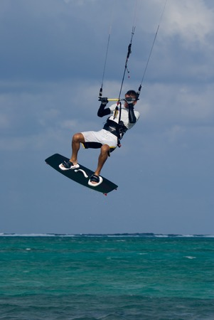 cayman: Kite surfing in Grand Cayman