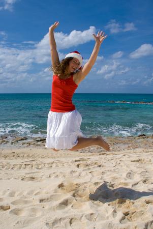 Tropical island vacation for Christmas