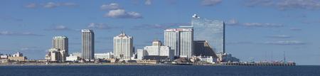 Panoramic Atlantic City , New Jersey Editorial